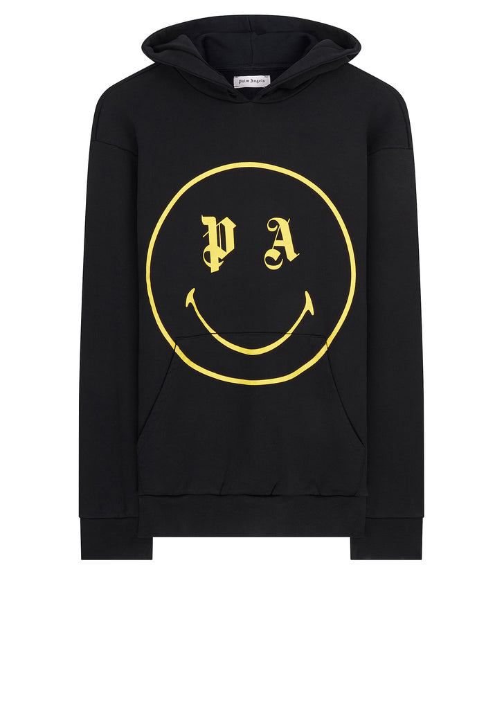 Smiling Hoody in Black