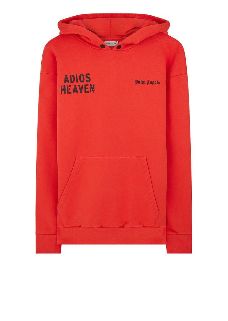 Adios Heaven Hoody in Red
