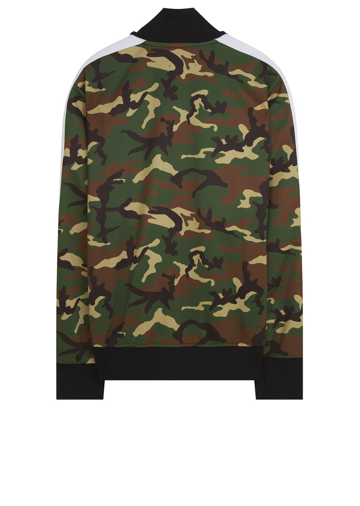 SS18 Classic Taped Track Jacket in Camo