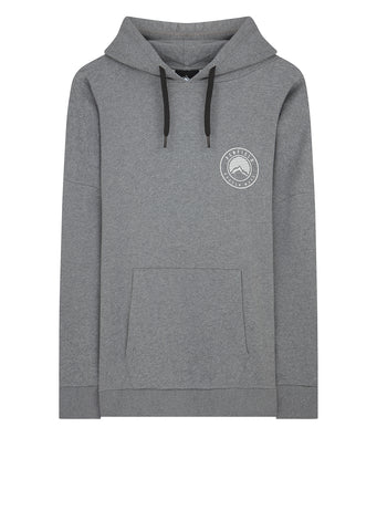 Casco Hooded Sweat in Grey