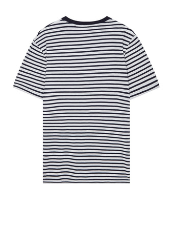 Clover Stripe T-Shirt in Navy