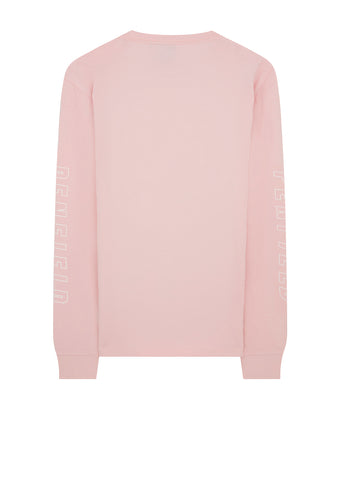 Aloka Long Sleeve T-Shirt in Pink