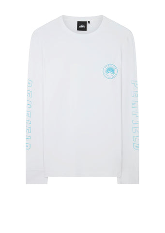 Aloka Long Sleeve T-Shirt in White