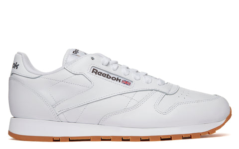 SS18 Classic Leather in White (49799)