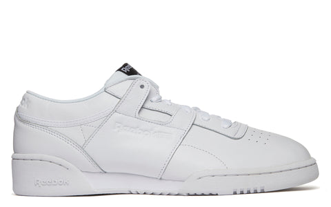 Workout Lo Clean ID in White