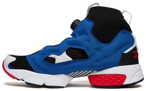 SS18  Instapump Fury OG Ultraknit in Black/Team Dark Royal/Primal Red