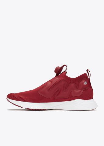 Pump Supreme Ultraknit in Urban Maroon/Clay Tint/White