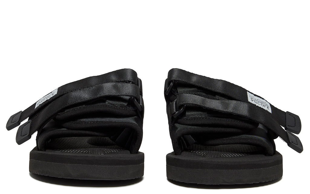 SS18 Moto-Cab Slip On Sandal in Black