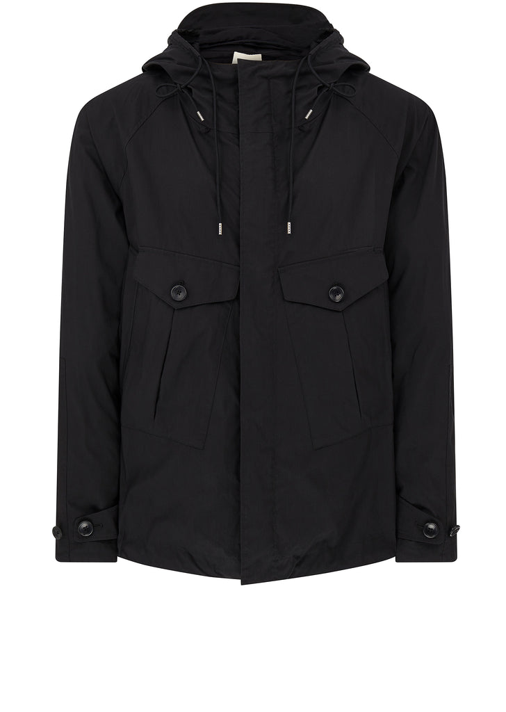 Poly Tempest Anorak in Black