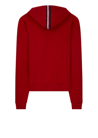 Oversized Hoodie in Red