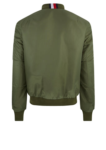 Reversible Bomber Jacket in Khaki