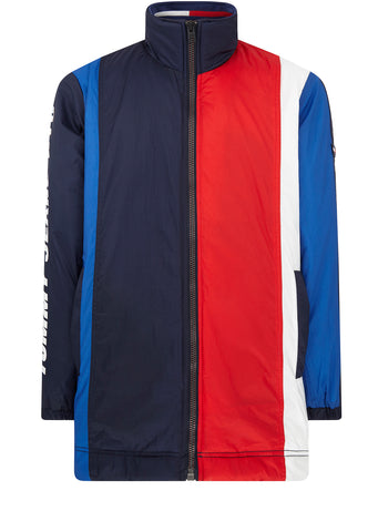 Colourblock Shell Jacket in Multi