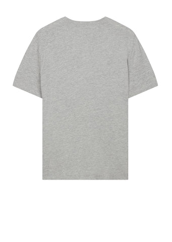 Vintage Graphic Crew T-Shirt in Grey