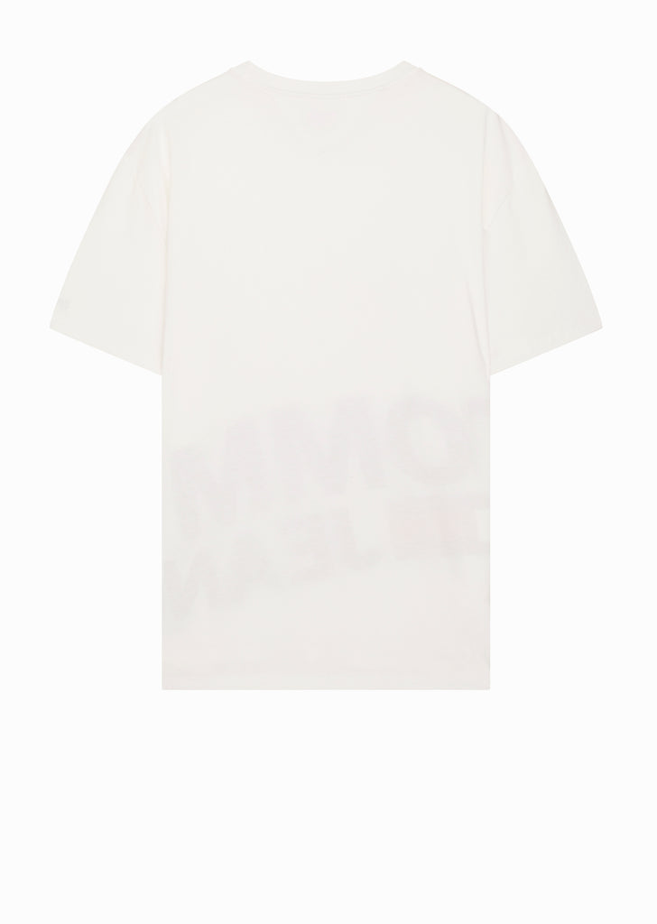 Magnified Logo T-Shirt in White