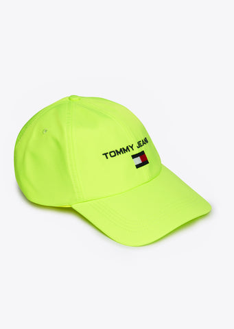 90s Soft Baseball Cap in Safety Yellow
