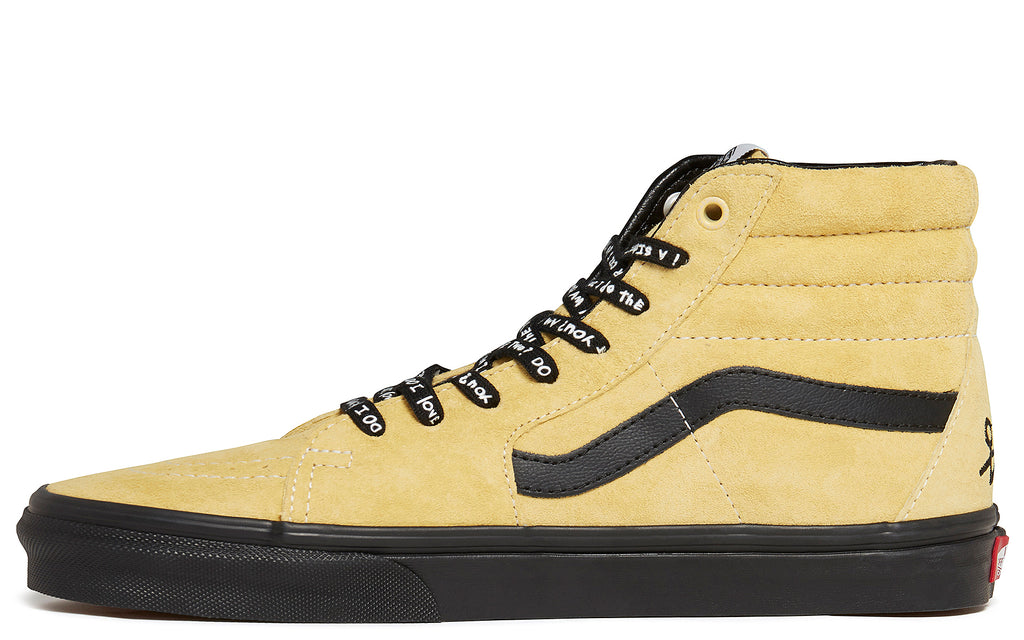 Sk8-Hi in Mellow Yellow/Spectra Yellow