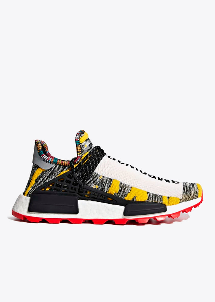 Afro SolarHu NMD in Black/Core Black/Red