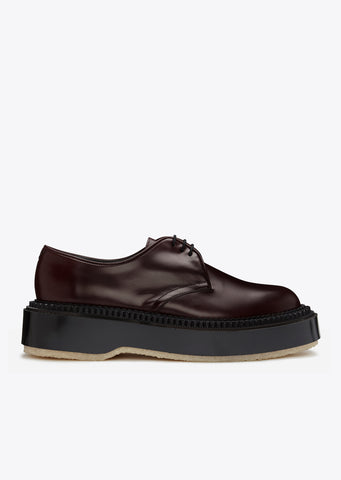 Type 54C Special Derby Shoe in Prune