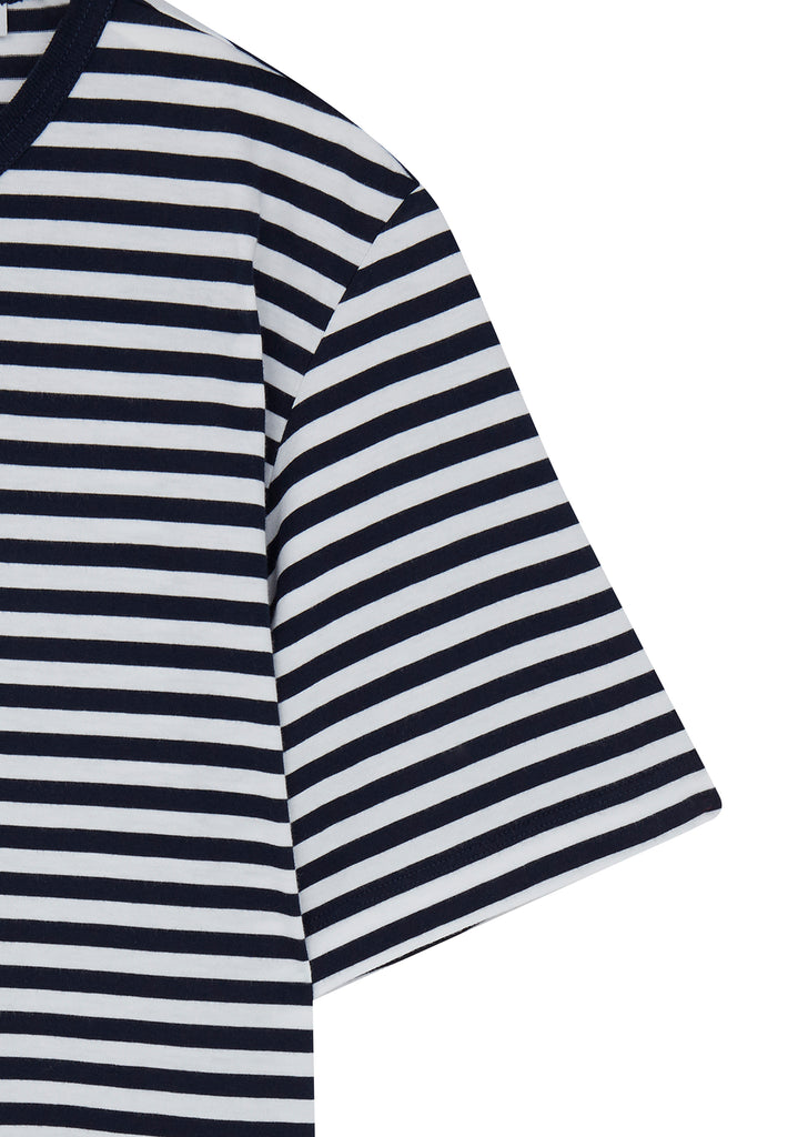 Simple Stripe T-Shirt in Navy