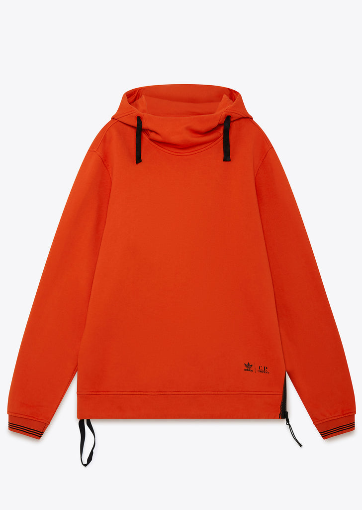 Hooded Sweatshirt in Collegiate Orange