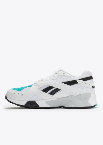 Aztrek in White/Solid Teal/Black