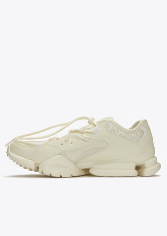 Run R 96 Sneaker in Chalk/White