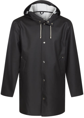 Stockholm Raincoat in Black