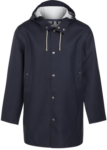 Stockholm Raincoat in Navy