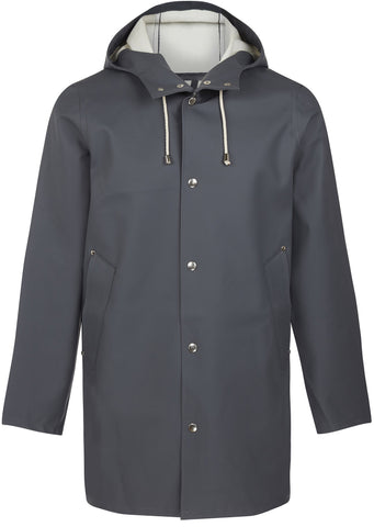 Stockholm Raincoat in Charcoal