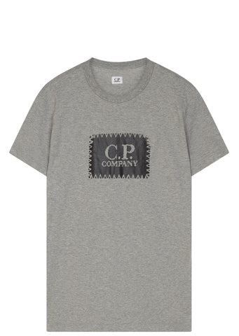 SS17 Stitch Logo T-shirt in Grey
