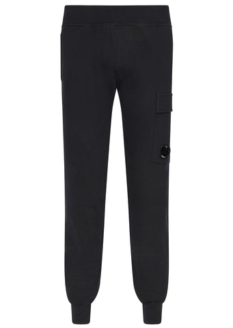 SS17 Diagonal Fleece Cargo Trackpants in Navy