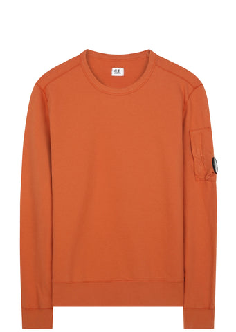 SS17 Goggle Sleeve Sweatshirt in Burnt Orange