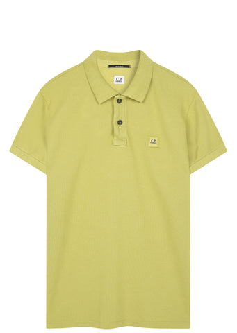 SS17 Cotton Pique Polo Shirt in Pistachio Green
