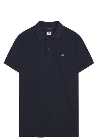 SS17 Cotton Pique Polo Shirt in Navy