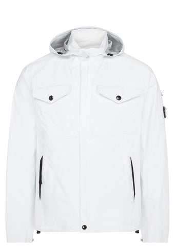 SS17 Pro Tech Cotton Field Jacket in White