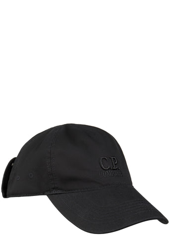 SS17 Goggle Cap in Black