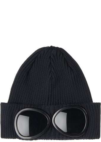 SS17 Goggle Beanie in Black