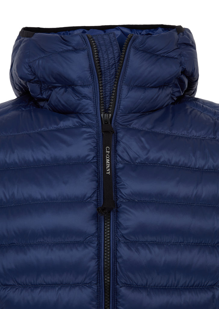 AW17 Goggle Down Jacket in Blue