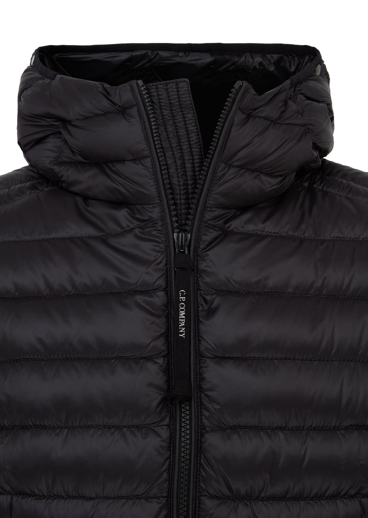 AW17 Goggle Down Jacket in Black