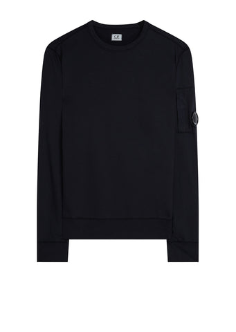 AW17 Crewneck Lens Sweatshirt in Navy