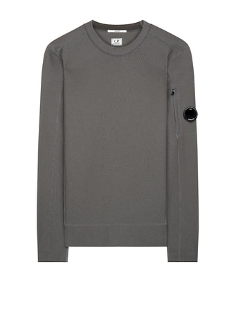 AW17 Tubular Fleece Lens Sweatshirt in Grey