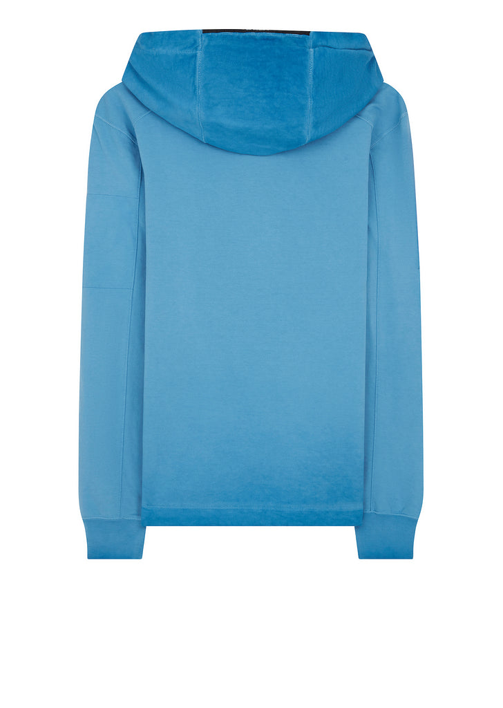 Re-Coloured Hoody in Blue