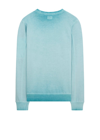SS18 Re-Colour Crew Neck Sweat in Light Blue
