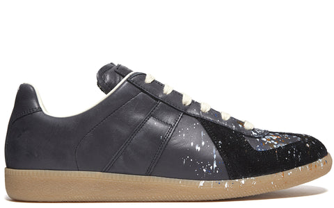 SS17 Paint Splash Replica Sneaker in Black