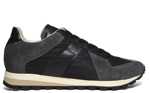 SS17 Retro Runner Sneaker in Black