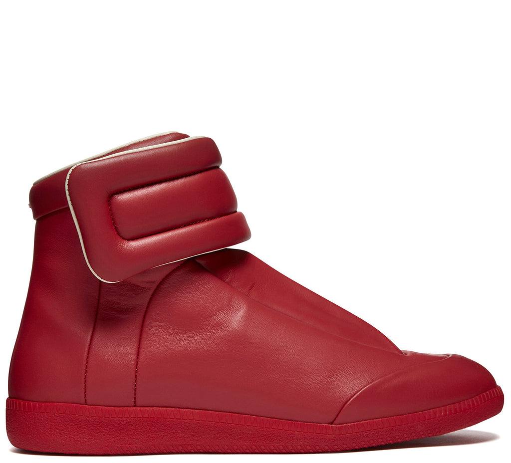 SS17 Future High Top Sneaker in Red