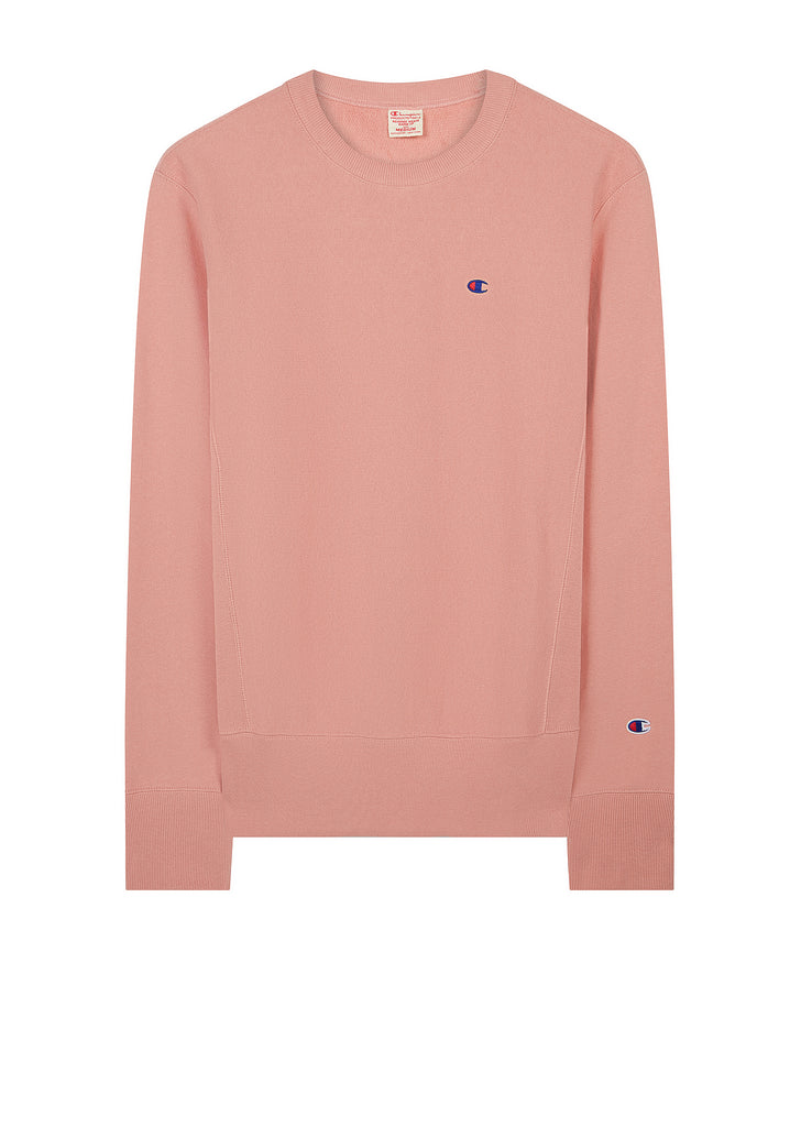 AW17 Classic Applique Crewneck Sweat in Pink