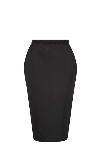 SS17 Pillar Pencil Skirt in Black