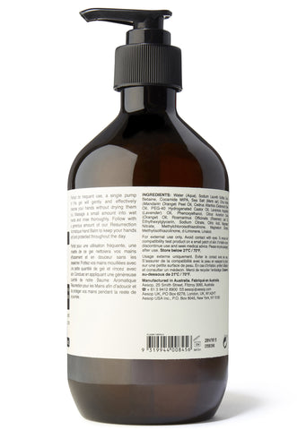 Resurrection Aromatique Hand Wash 500ml