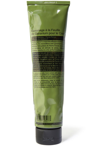 Geranium Leaf Body Scrub 170ml